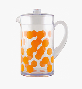 dot dot pitcher 2 lt orange dot dot pitcher orange 2 lt