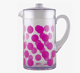 dot dot pitcher 2 lt fuchsia dot dot pitcher fuchsia 2 lt