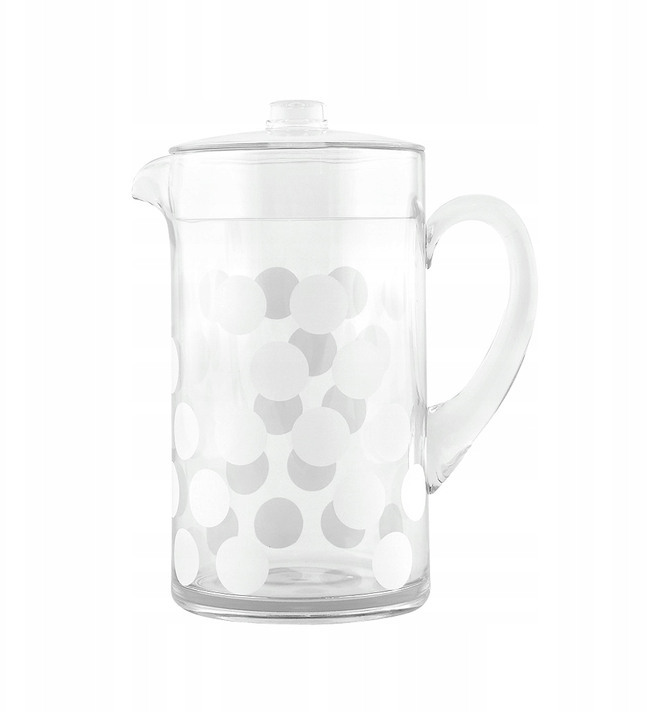 dot dot pitcher 2 lt white dot dot pitcher white 2 lt
