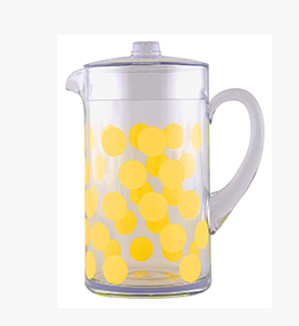 dot dot pitcher 2 lt yellow dot dot pitcher yellow 2 lt
